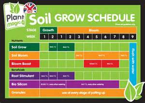 Organic Vertical Gardening - growing life plant magic plus grow schedule