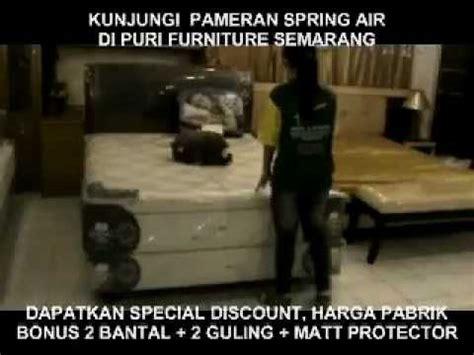 Kasur Central Di Semarang pameran in store promo air di puri furniture puri