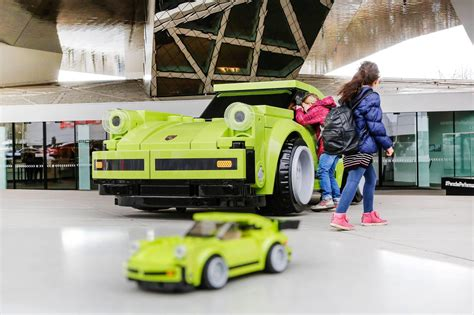 lego porsche size porsche builds 911 turbo out of lego bricks roadshow