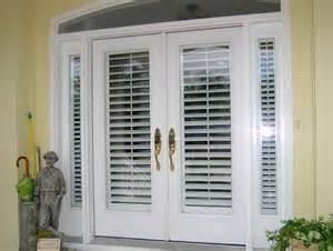 sliding glass patio doors with built in blinds home