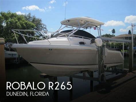 boats for sale dunedin sold robalo r265 boat in dunedin fl 112867