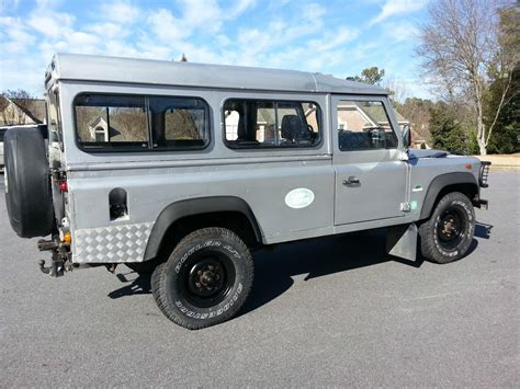 land rover defender diesel 1989 land rover defender 110 2 5 turbo diesel 5 speed