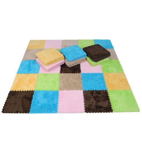 9pcs interlocking foam puzzle floor mats tile crawl