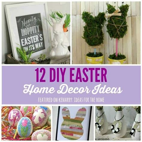 easter home decor easter home decor 12 beautiful diy ideas