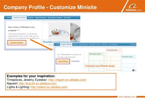 alibaba company profile how to get alibaba account started maintained account