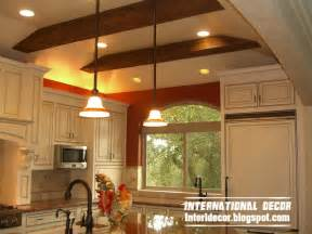 Ideas For Kitchen Ceilings Top Catalog Of Kitchen Ceilings False Designs Part 2