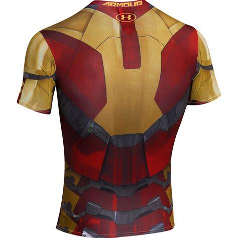 Kaos Armour Ironman Alter Ego Ironman armour alter ego iron compression baselayer shirt ebay
