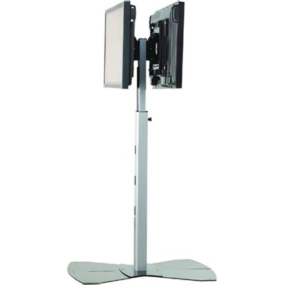 Monitor Floor Stand by Chief Mf2ub Or Mf2us Medium Dual Display Floor Stand 30 55 Quot