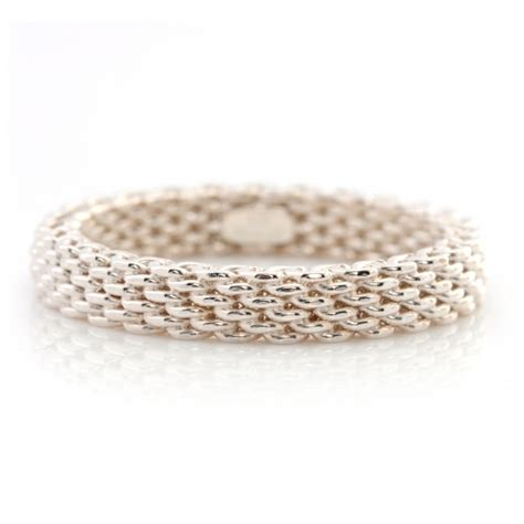 co sterling silver narrow mesh somerset ring 9 43605