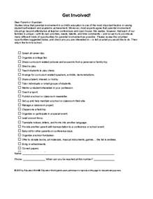 Parent Volunteer Letter Template by Education World Volunteer Letter Template