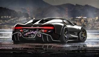 Bugatti Race Amazing Digital Rendering Of Bugatti Chiron Racecar
