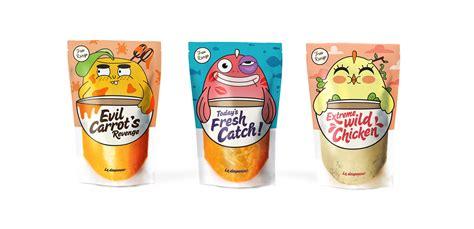 2 fruit by the foot in one package 15 soup packaging designs a list of inspiration in soup