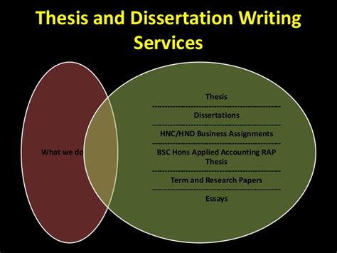 thesis and dissertation thesis and dissertation writing services