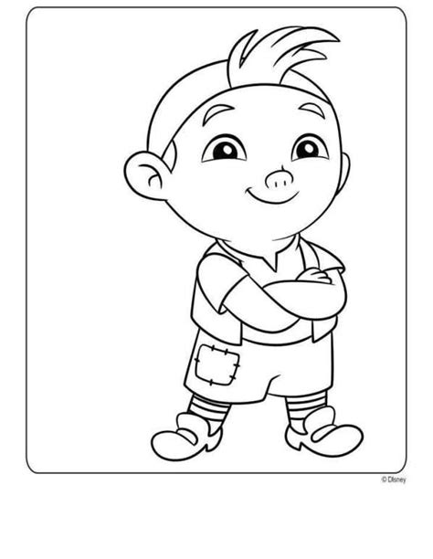 disney coloring pages jake and the neverland kleurplaat jake en de nooitgedacht piraten jake en de