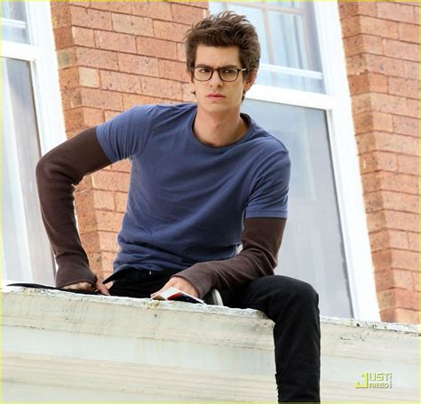 celebrity x male reader andrew garfield on set with spidey photo 2541854
