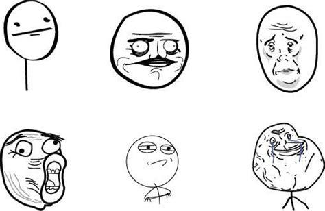 Popular Meme Faces - cartoon meme faces