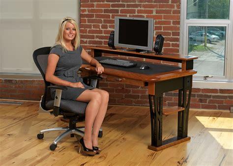 desk that hides wires modern urban computer desk full caretta workspace