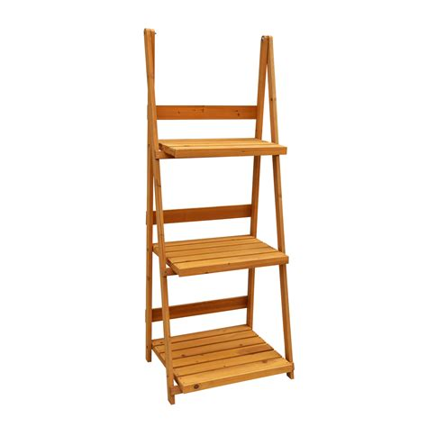 3 Tier Planter Stand by Leisure Season Ps6114 3 Tier A Frame Plant Stand Lowe S
