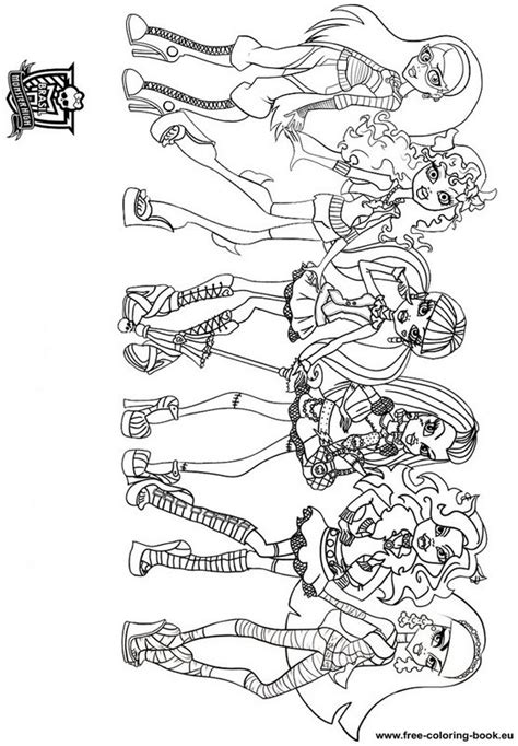 coloring pages monster high online coloring pages monster high page 1 printable coloring
