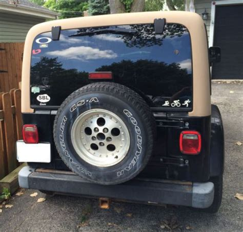 1997 Jeep Wrangler Parts Buy Used 1997 Jeep Wrangler For Project Or Parts In