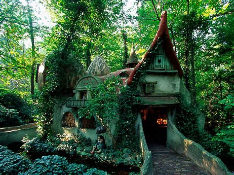 forest house efteling the netherlands photo on sunsurfer