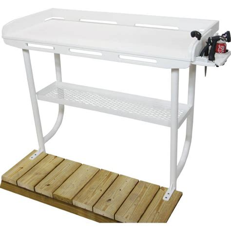 dock overhang fillet table boat outfitters