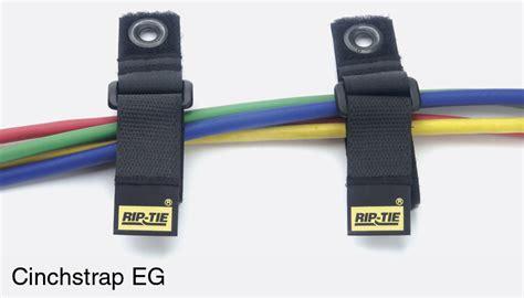 rip tie cinchstrap eg black pack of 2