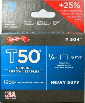 nails staples pty arrow t50 staples 1 4 6mm 1250pk joiman pty ltd t as fairbanks