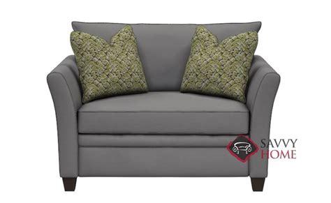 murano chair sleeper sofa ship murano fabric chair in oakley graphite by savvy