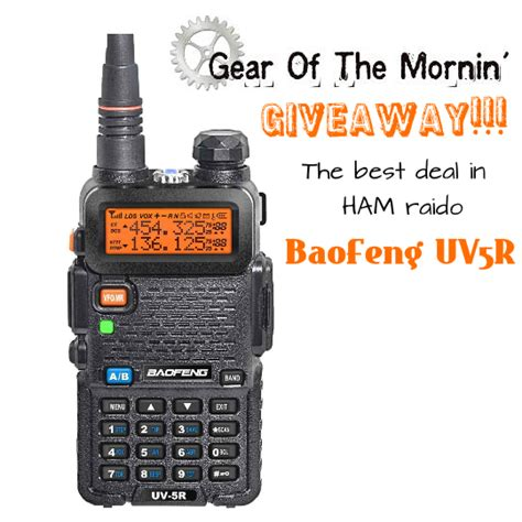 Radio Giveaways - baofeng uv5r radio giveaway winner 187 tinhatranch