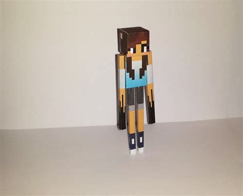 Minecraft Papercraft Skin Generator - me as enderman by kiralamanzana on deviantart