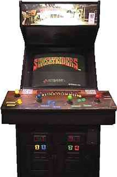 Sunset Riders Cabinet sunset riders videogame by konami
