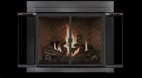Fireplace Glass Doors Open Or Closed The Big Picture Residential Retreat Ardmore Fireplace Doors