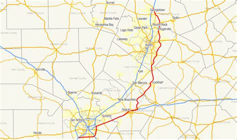texas toll map texas state highway 130