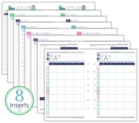 inserts template 8 5 x 11 calendars printable for 2017 calendar template 2016