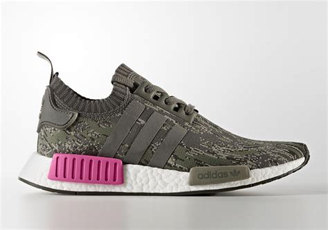 Adidas Nmd R1 Pink Premium adidas nmd r1 primeknit utility grey camo release date sneaker bar detroit
