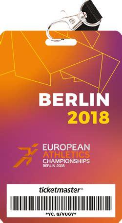 Fu Berlin Bewerbung Fur Mehrere Master Berlin 2018 Leichtathletik Em Tickets F 252 R Mehrere Sessions Kaufen Tickets Karten Kaufen