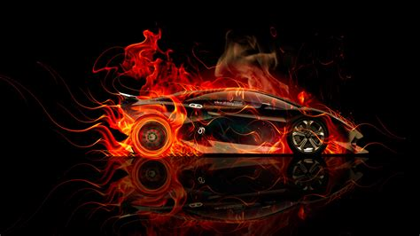 wallpaper abstract car lamborghini sesto elemento side violet fire abstract car