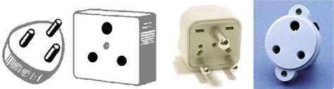 Socket D Ds Rucika 2 type m electrical receptacle outlet for india africa middle east panel mount switch light