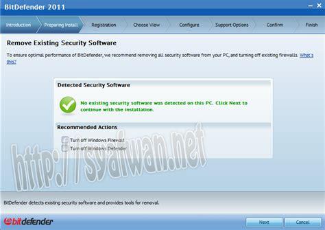 Cara Mematikan Anti Virus tutorial cara install anti virus bitdefender 2011