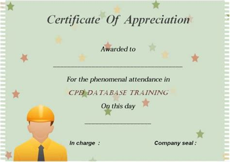 21 best certificate of attendance templates for your