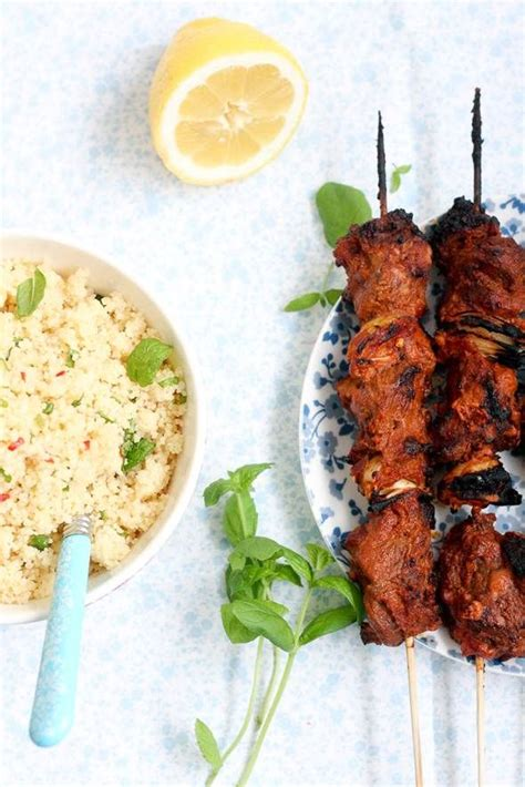 lamb kebabs with couscous and mint yoghurt sauce recipes 1000 images about lamb mutton on pinterest lamb
