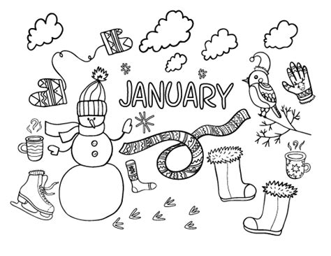 january coloring pages to print printable january coloring page free pdf download at http