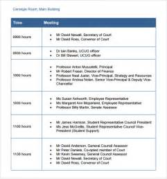 itinerary schedule template business itinerary template 7 free documents