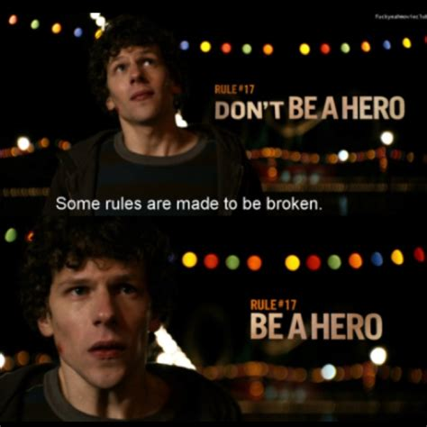 movie quotes zombieland some rules are meant to be broken my crazy love for