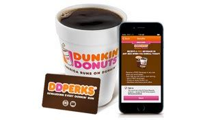 Dunkin Donut Gift Card Deal - free 5 dunkin donuts gift card medium beverage us only