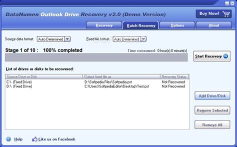 drive outlook datanumen outlook drive recovery download