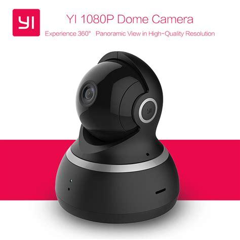 Promo Xiaomi Xiaoyi Yi Dome Ip Cctv 360 Internasional international edition xiaomi yi 1080p dome vision pan tilt zoom wireless ip