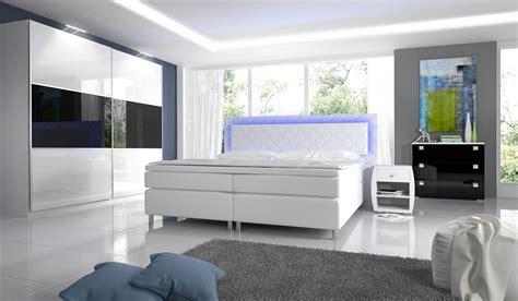 boxspringbett komplett schlafzimmer schlafzimmer novabox in hochglanz mit boxspringbett