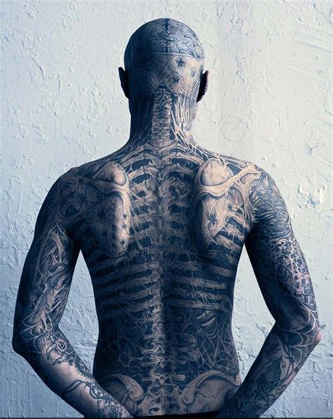 zombie boy tattoo back boy tattoos best ideas gallery